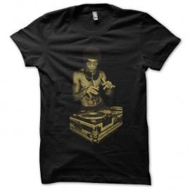 Shirt bruce lee en mode dj noir pour homme et femme