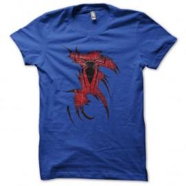 Shirt pijama spiderman bleu royal pour homme et femme
