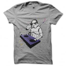 Shirt stormtrooper qui mix en gris pour homme et femme