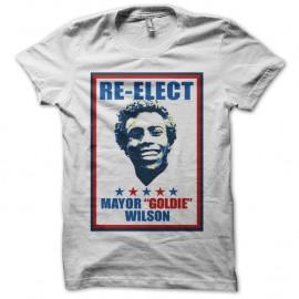 Shirt Reelect Goldie Wilson Affiche blanc pour homme et femme