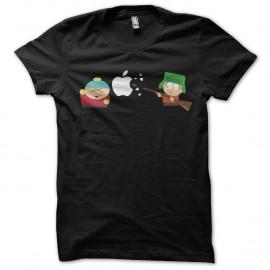 Shirt south park fusille apple noir pour homme et femme