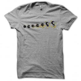 Shirt bomber man évolution gris pour homme et femme
