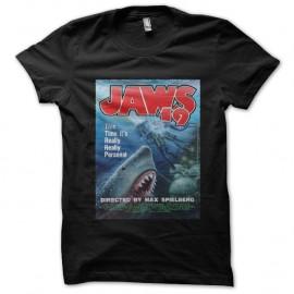 Shirt Jaws 19 noir pour homme et femme