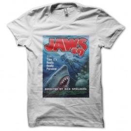 Shirt Jaws 19 blanc pour homme et femme