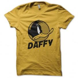 Shirt daffy duck jaune pour homme et femme