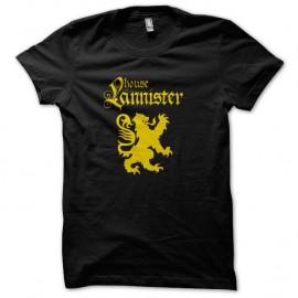 Shirt GoT Lannister noir pour homme et femme