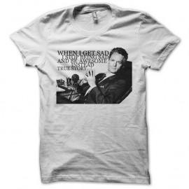 Shirt barney stinson et ses phrases legendaire blanc pour homme et femme