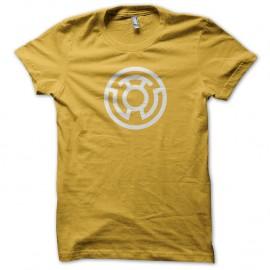 Shirt superheros Yellow lantern jaune pour homme et femme