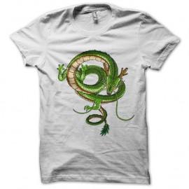 Shirt du dragon shenron dragon ball z en blanc pour homme et femme