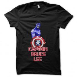 Shirt captain bruce lee noir pour homme et femme