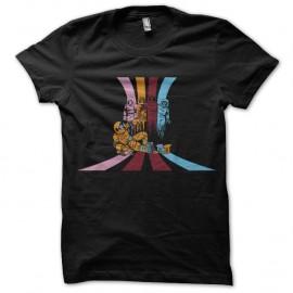 Shirt pac man nouvelle generation noir pour homme et femme