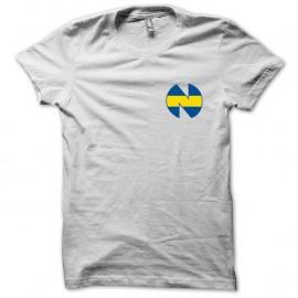 Shirt New Team football manga blanc pour homme et femme