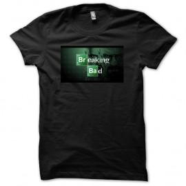 Shirt serie Breaking Bad logo en noir pour homme et femme