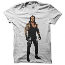 Shirt undertaker blanc pour homme et femme