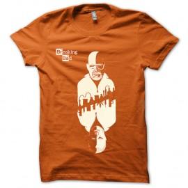 Shirt Breaking bad miroir Walt et Jesse orange pour homme et femme