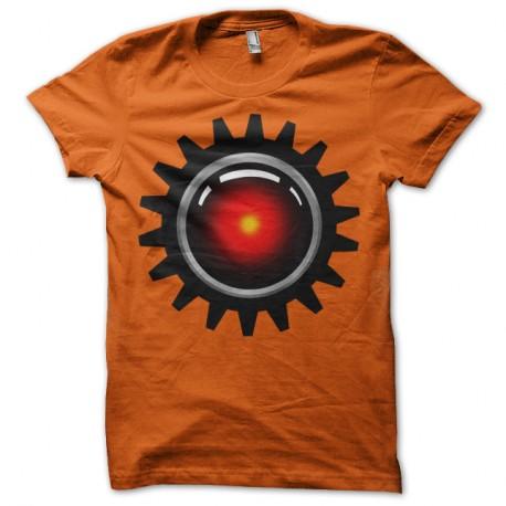 Shirt Clockwork Hal orange pour homme et femme
