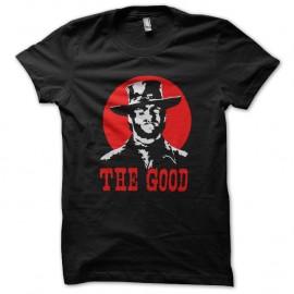 Shirt clint eastwood the good logo noir pour homme et femme