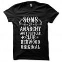 Shirt SOA SAMCRO noir pour homme et femme
