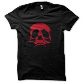 Shirt Red Skull Noir pour homme et femme
