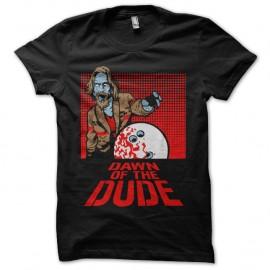 Shirt Dawn of the dude Noir pour homme et femme