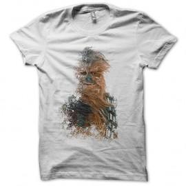 Shirt Chewbacca sur Hoth Star Wars Blanc pour homme et femme