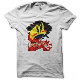 Shirt pacman se dope blanc pour homme et femme