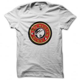 Shirt bruce lee logo blanc pour homme et femme