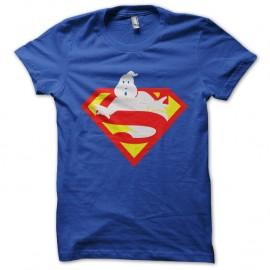 Shirt sos fantome piege par superman bleu pour homme et femme
