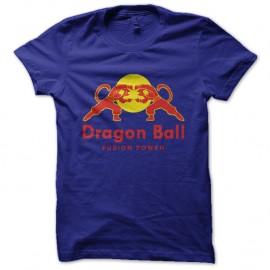 Shirt Dragon Ball parodie red bull Bleu pour homme et femme