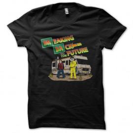 Shirt Breaking back to the future noir pour homme et femme