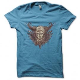 Shirt Hunter academy bleu ciel pour homme et femme