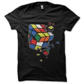 Shirt Rubik's cube cassé sheldon cooper noir pour homme et femme