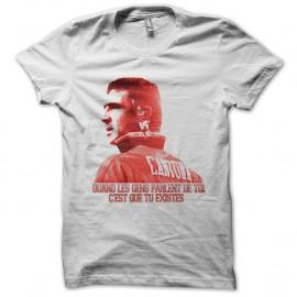 Shirt Eric Cantona replique culte blanc pour homme et femme