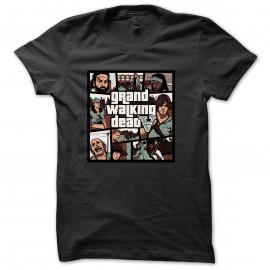 Tee Walking Dead GTA V noir pour homme et femme