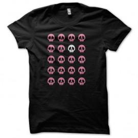 Shirt Girly skull pirate noir pour homme et femme