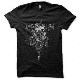 Shirt son of Krupton super man noir pour homme et femme