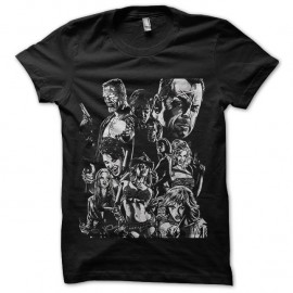 Shirt sin city comics noir pour homme et femme