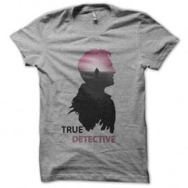 Shirt true detective serie americaine gris pour homme et femme
