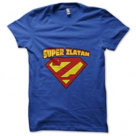 Shirt Super Zlatan Ibrahimovic bleu pour homme et femme