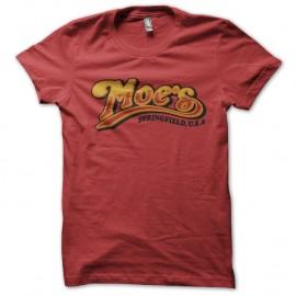 Shirt Moe s springfield simpsons rouge pour homme et femme