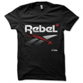 Shirt Rebel - Noir pour homme et femme