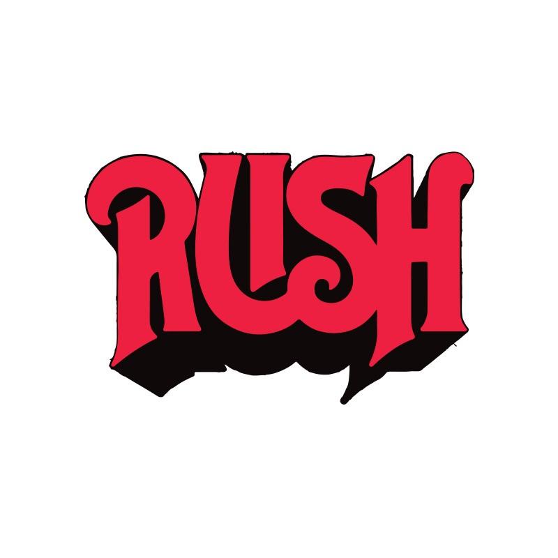 t shirt rush logo groupe de rock punk blanc. Black Bedroom Furniture Sets. Home Design Ideas