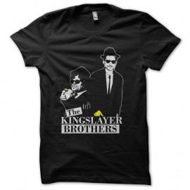 Shirt the kingslayer brothers noir pour homme et femme