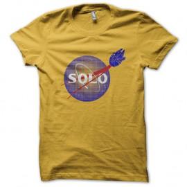 Shirt Solo star wars jaune pour homme et femme