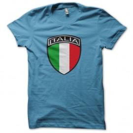 Shirt italia bleu ciel pour homme et femme