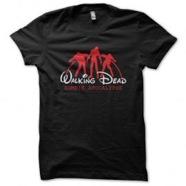 Shirt walking dead ecriture walt disney noir pour homme et femme