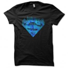 Shirt superman fusion noir pour homme et femme