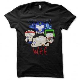 Shirt South Park wtf noir pour homme et femme