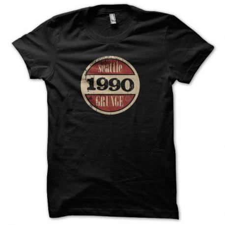 Shirt nirvana grunge seattle 1990 Noir pour homme et femme