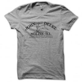 Shirt John deere gris pour homme et femme